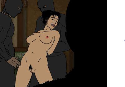 Групповое изнасилование жгучей брюнетки Аманды
