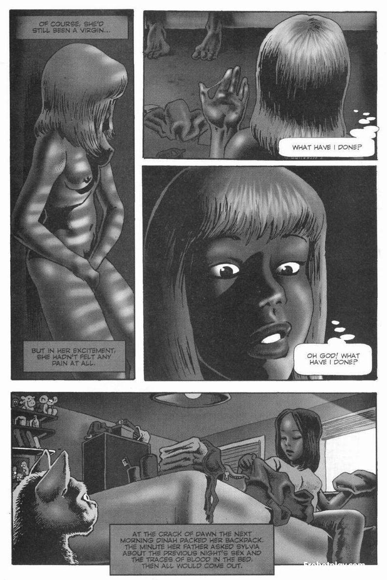 первый черно белый порно