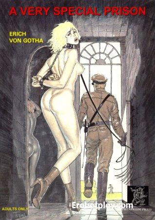 Порно комикс Особенная тюрьма
