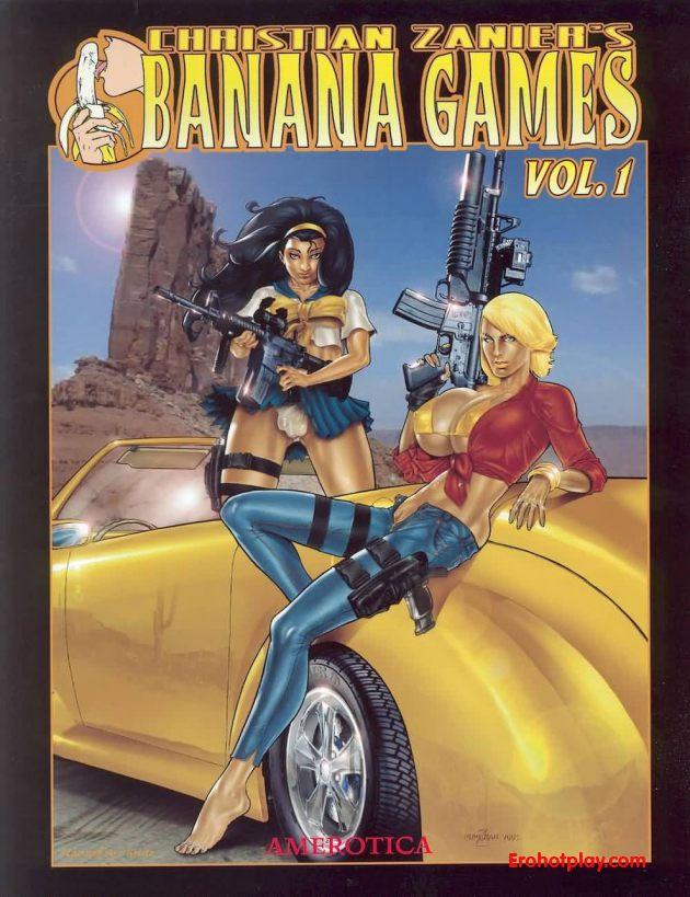 Забойный комикс Банановые игры