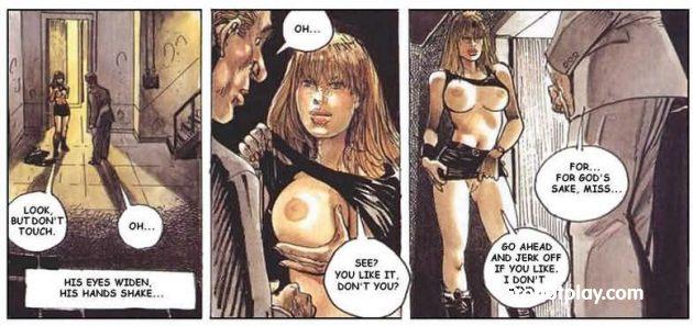Комикс про большегрудую развратницу Кэт