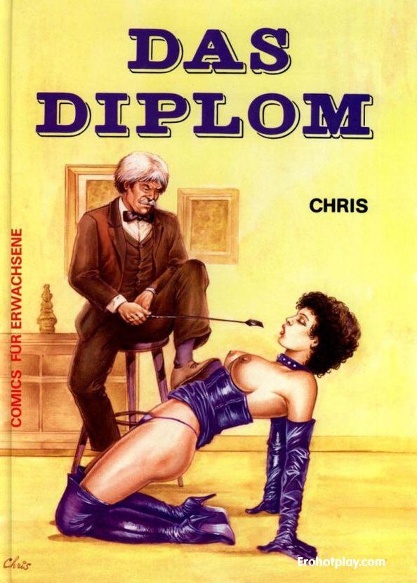 Диплом - порно комикс bdsm тематики на немецком языке