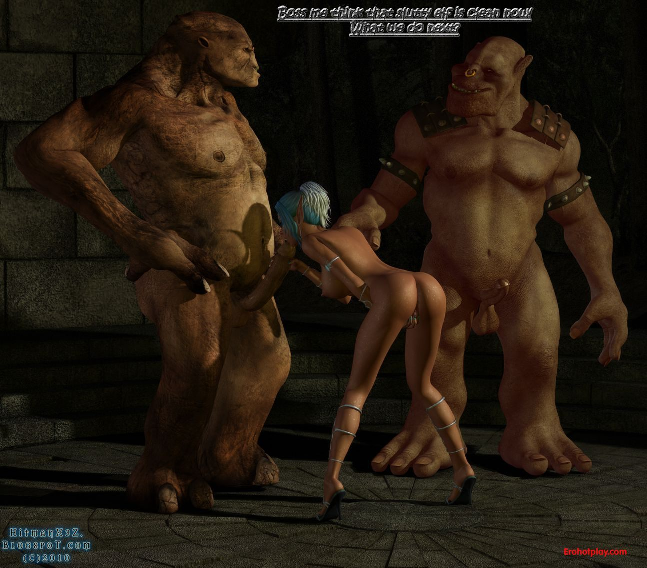 Oblivion monster porn video sex videos