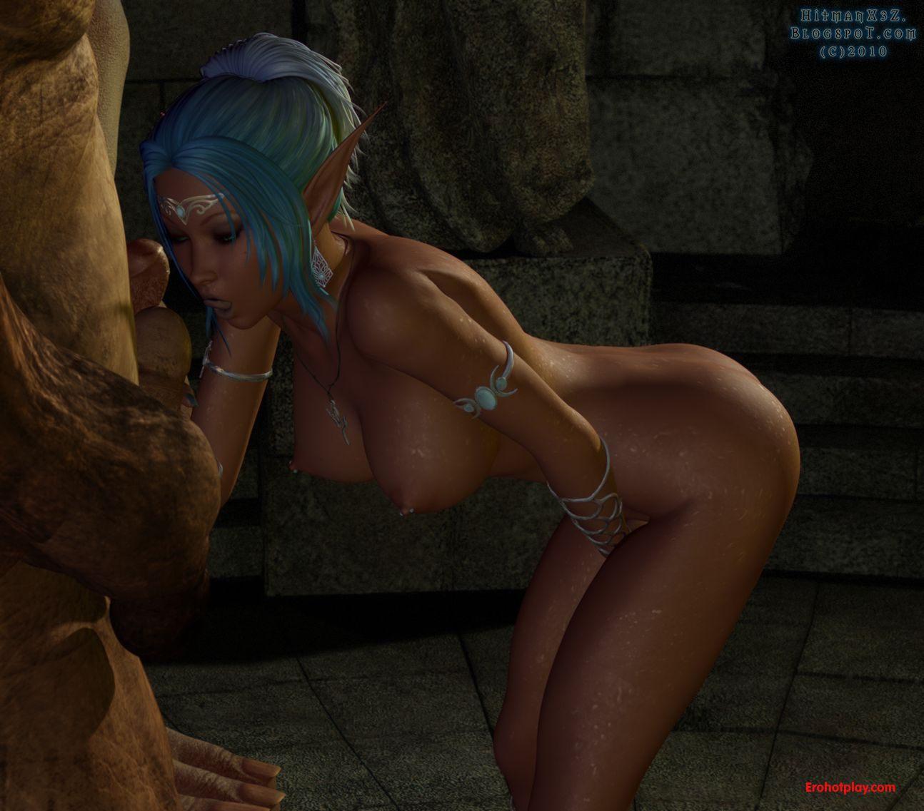 Самые Красивые Обнаженные Эльфийки Порно Мультик