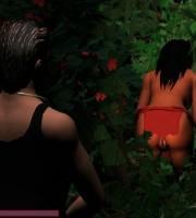 Ебля с амазонками в джунглях