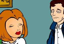 Малдер и Скалли стали участниками секс оргии