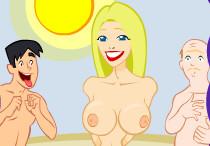 Шуточки с женской грудью