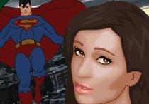 Супермен спасает красивую кралю