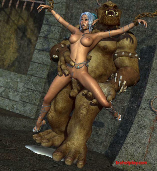 Порно монстры с ельфами фото 532-616