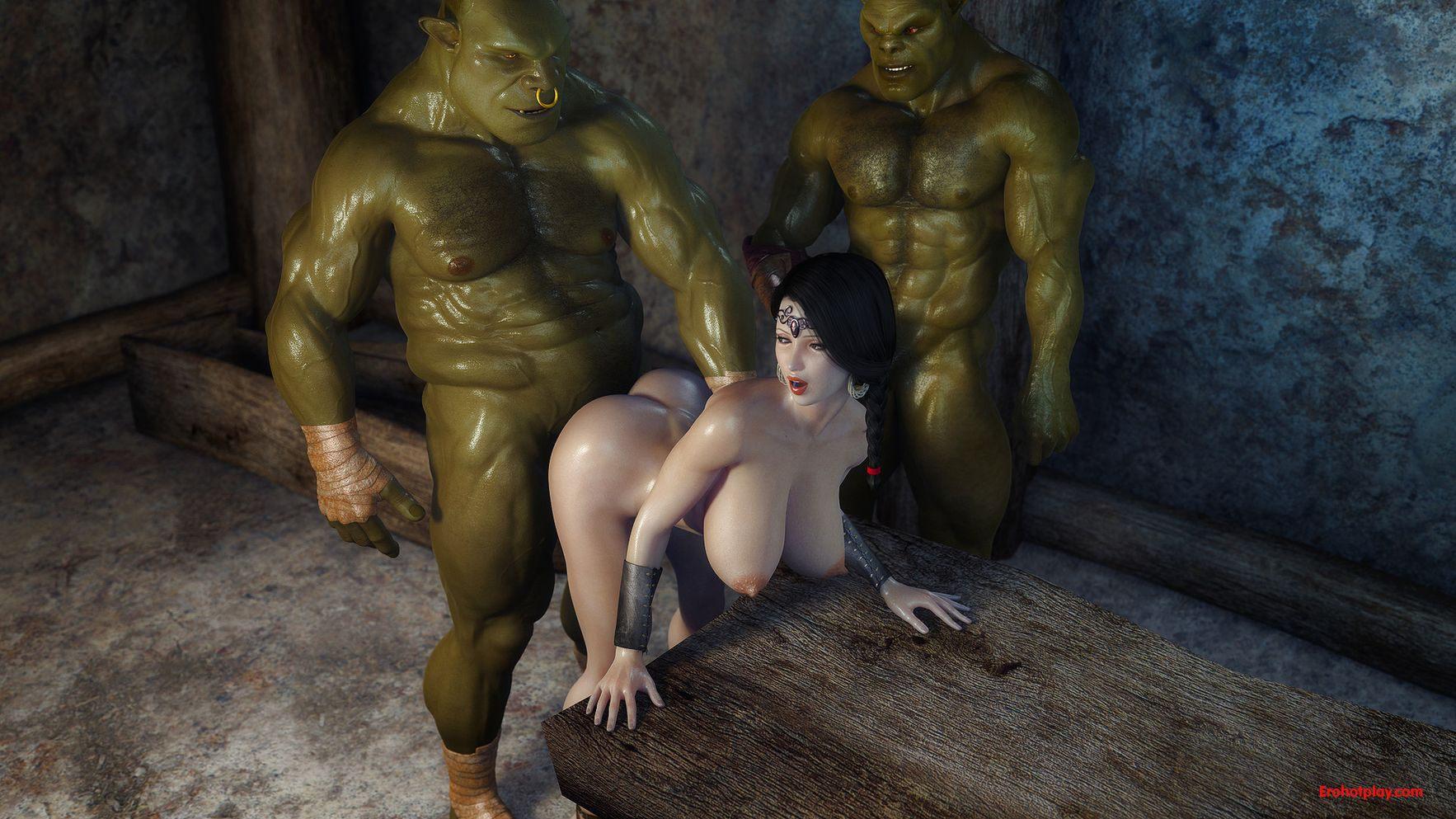 Orc sexy titties sexy pics