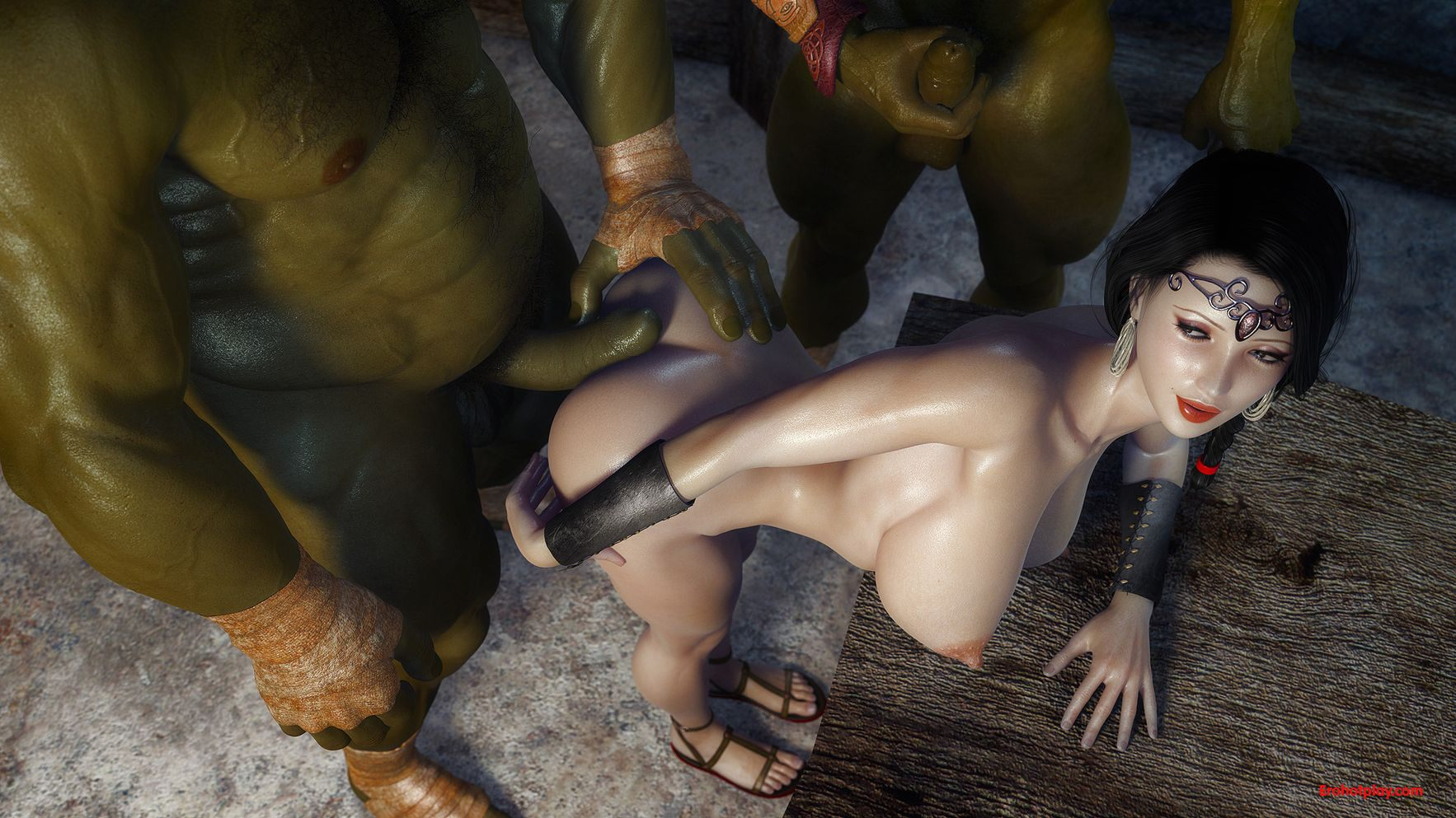 Lady of the rings orc xxx softcore scenes