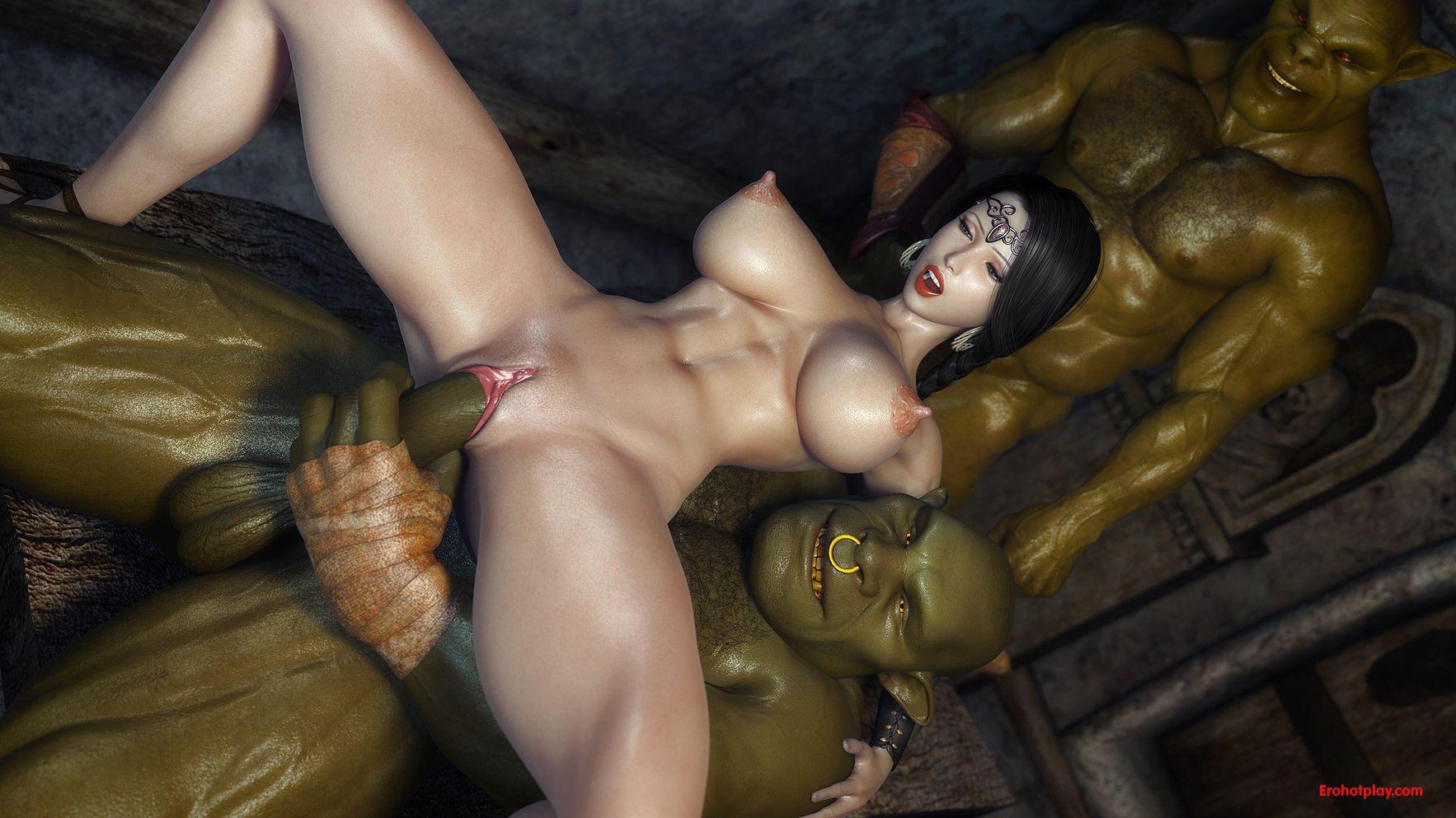 Смотреть порно мульт фэнтези орки и монстры 19 фотография