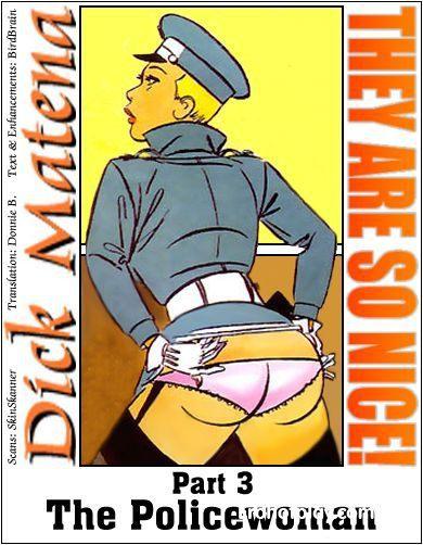 Третий комикс из сериала Они так хороши - Женщина полицейский