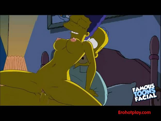 Гомер Симпсон трахает драгоценную супругу Мардж
