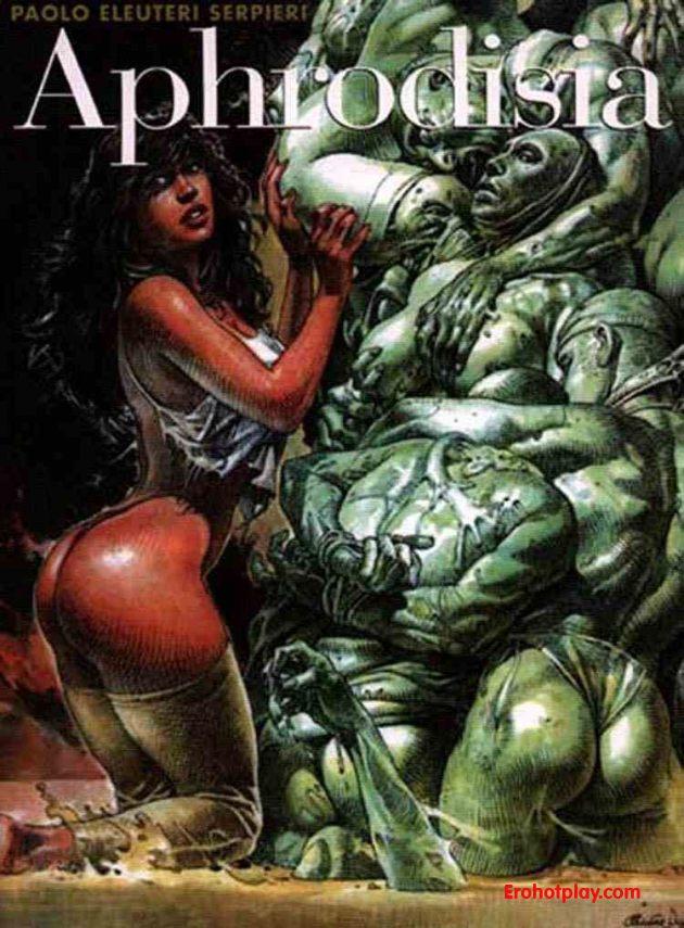 Первый фантастический порно комикс из серии Druuna