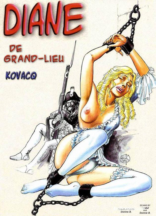 Диана: комикс про порядки, царившие в 18 веке