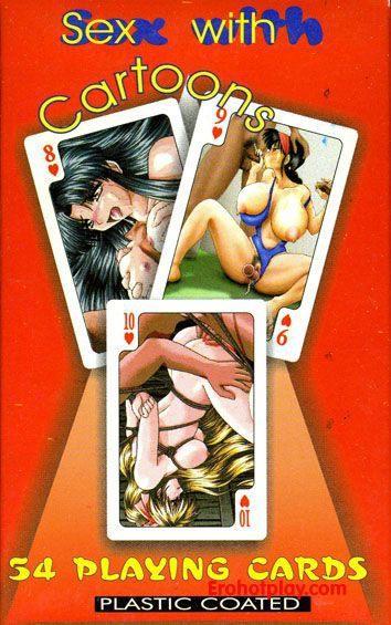 Рисованные порно карты в стиле хентай