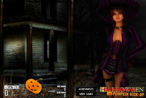 Трахни юную ведьму в канун хэллоуина