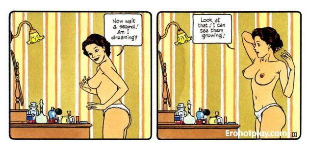 Маленькое эго - комикс про эротические сны