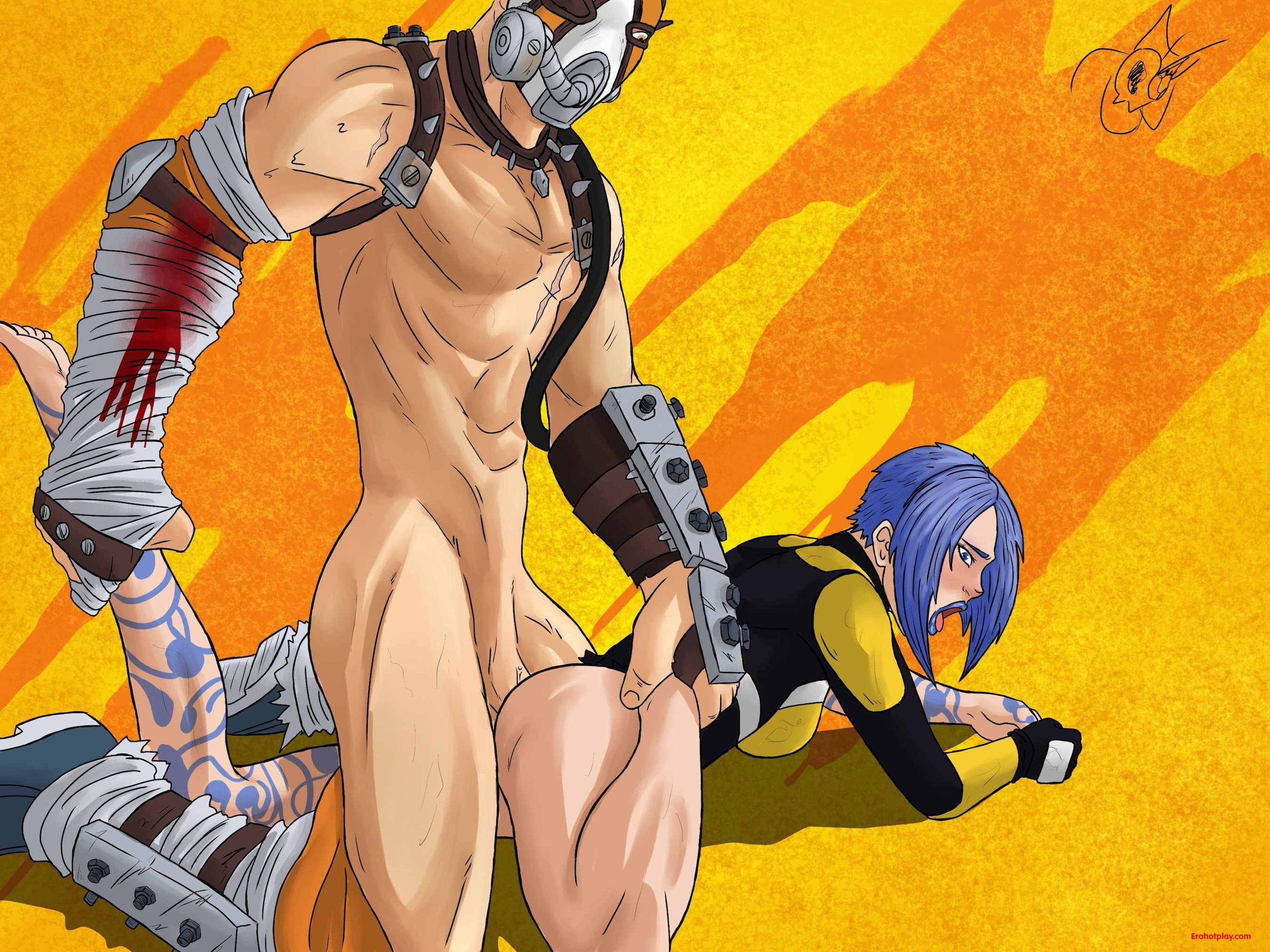 Borderlands 2 maya nude skin adult comic