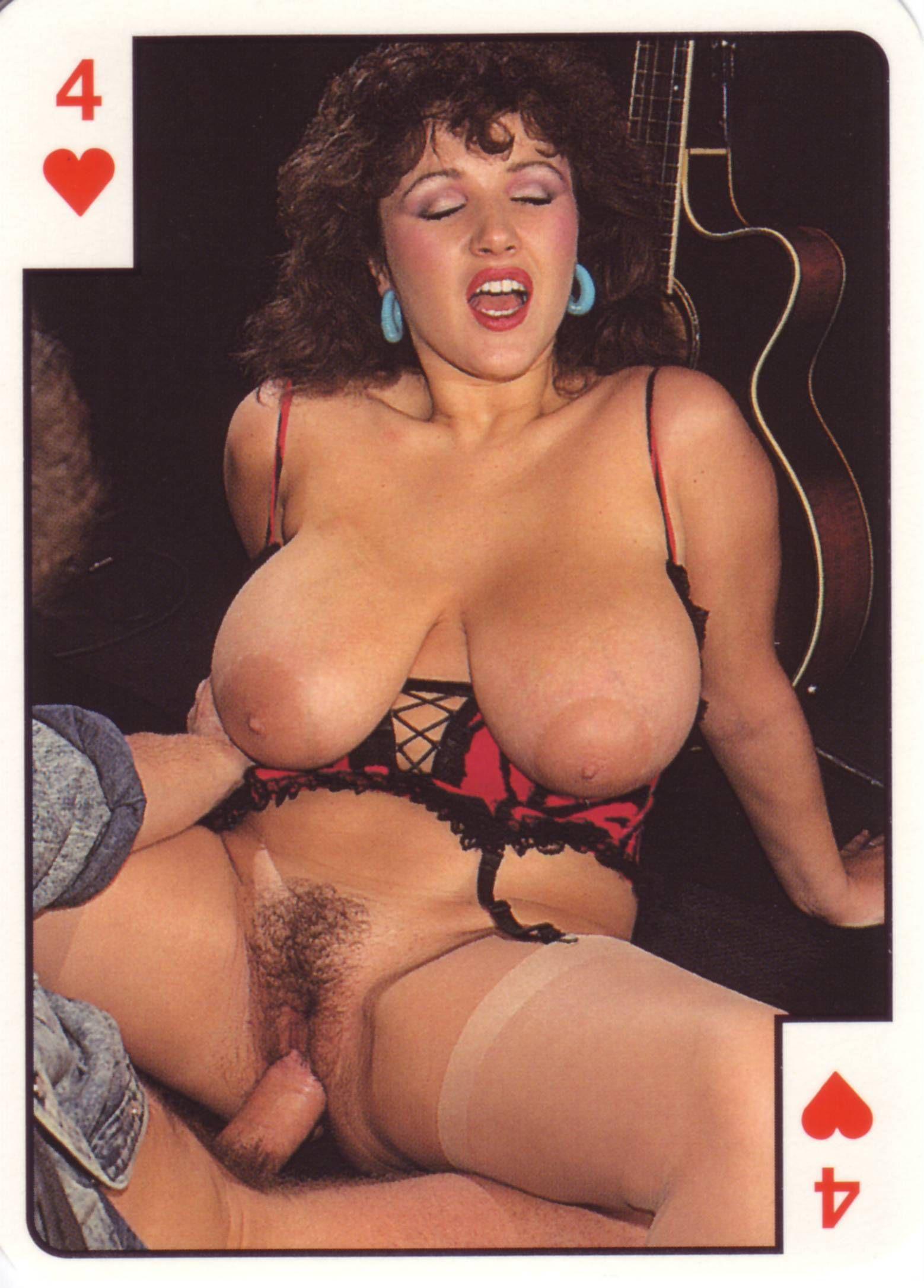 Порно в игральных картах