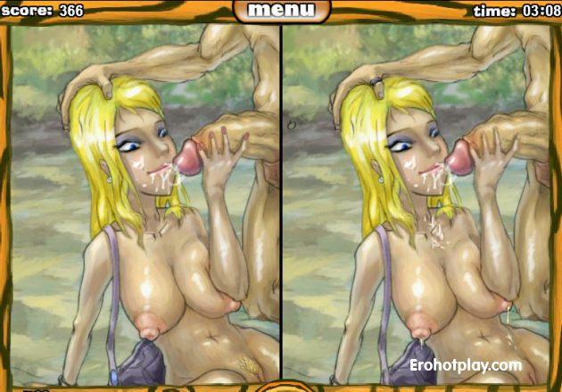 Собери порно пазл и найди отличия в классных картинках