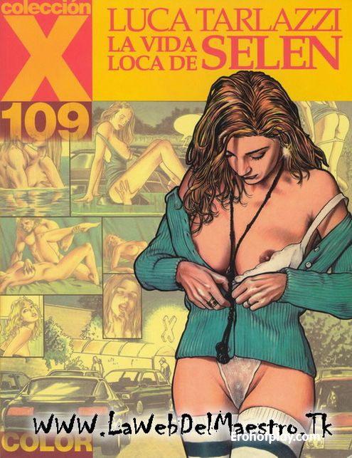 Безумная жизнь Селен - порно комикс на итальянском языке