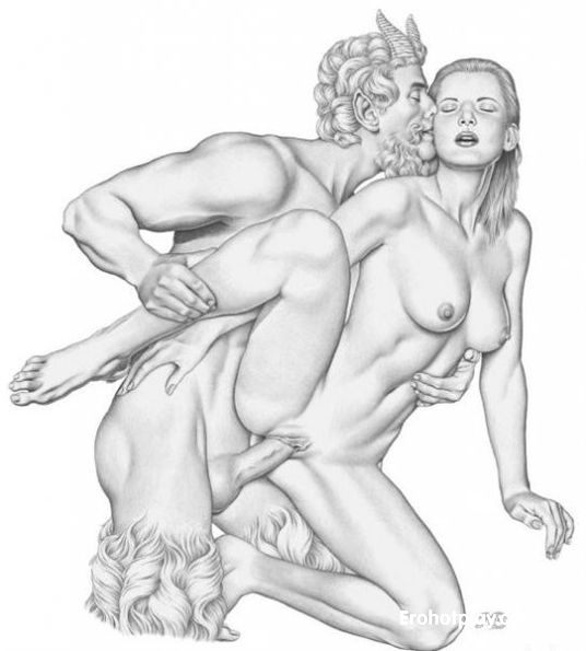 Порно сатиры и девушки фото 159-272