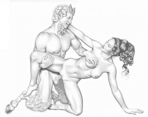 порно сатиры и девушки