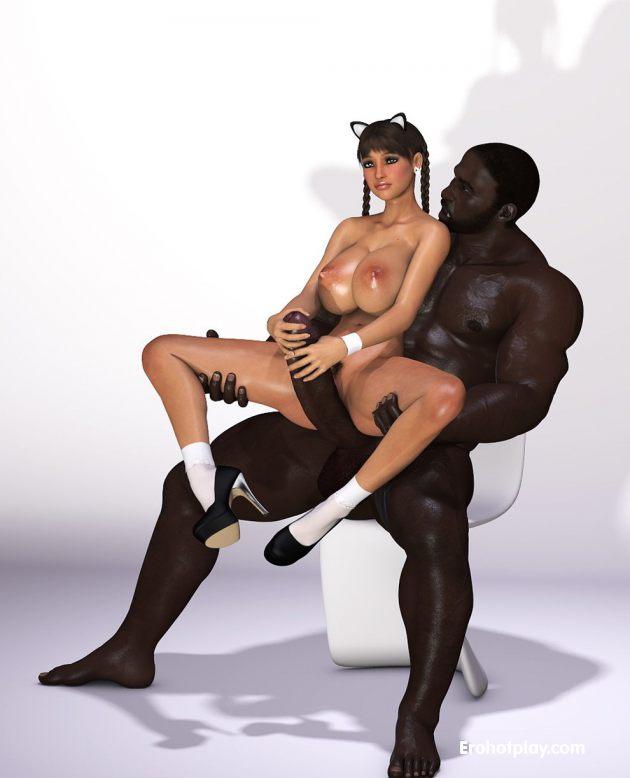 Реалистичные 3d рисунки в порно