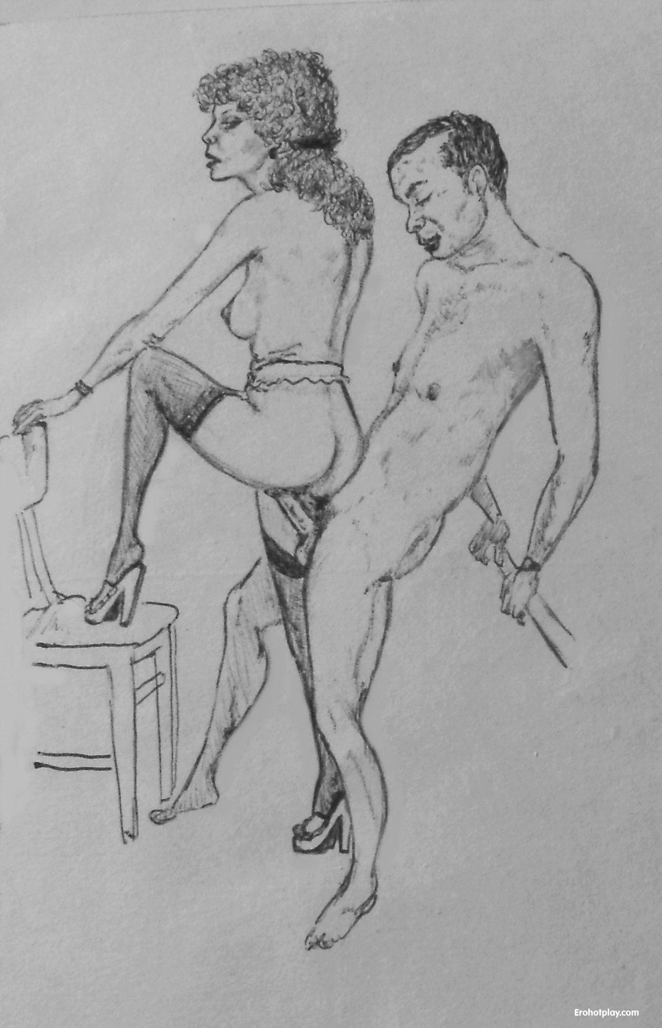 Супер супер порно рисунки карандашом 19 фотография