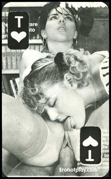 ретро порно фото карты игральные