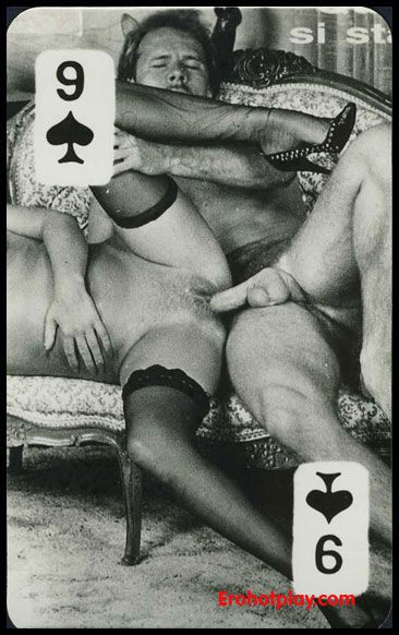 Игральные карты фото порно