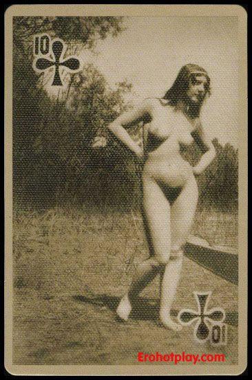 Эротические карты ретро