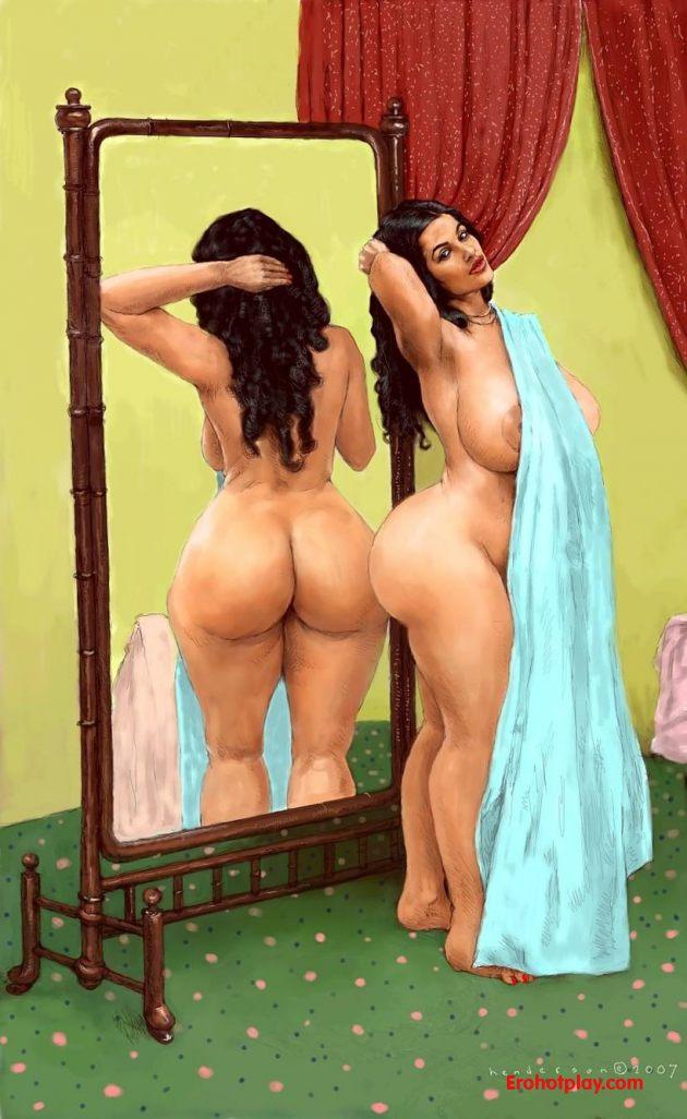 Порно фото полных женщин рисунки фото 606-421
